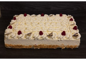 Vierkante taart
